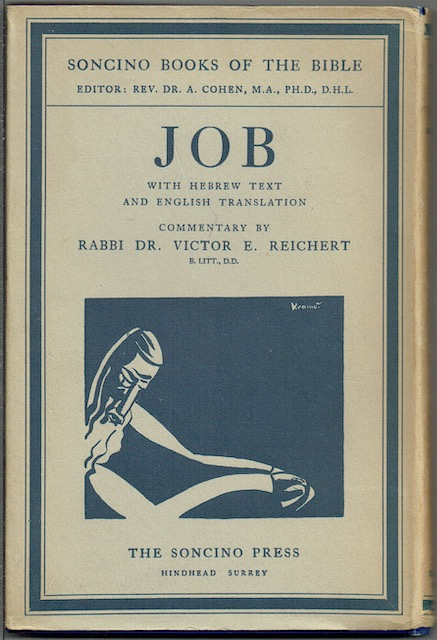 Image for Job (The Soncino Books Of The Bible)