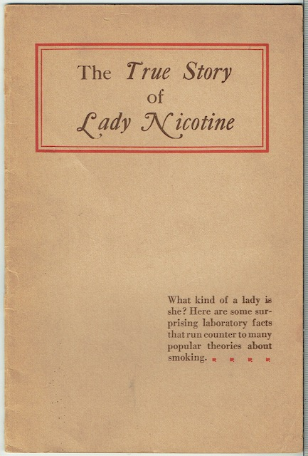 Image for The True Story Of Lady Nicotine
