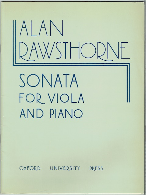 Image for Sonata For Viola And Piano