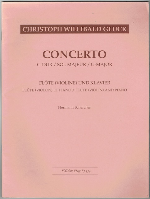 Image for Concerto G-Major: Flute (Violin) And Piano