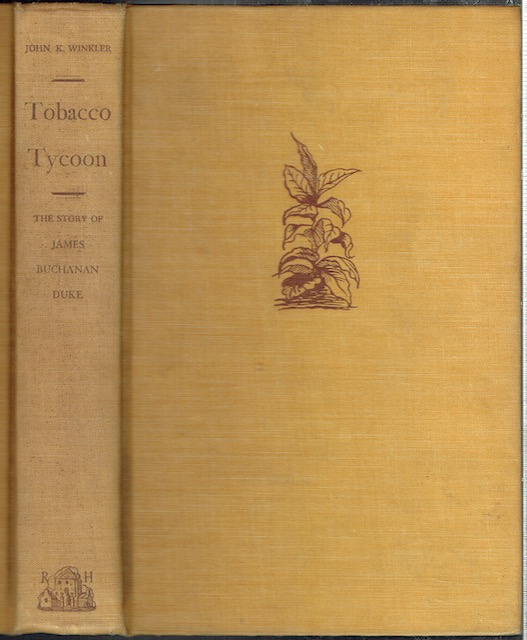 Image for Tobacco Tycoon: The Story Of James Buchanan Duke
