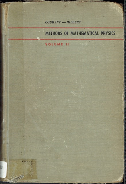 Image for Methods Of Mathematical Physics Volume II