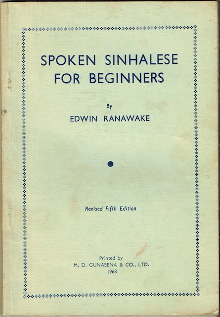 Image for Spoken Sinhalese For Beginners