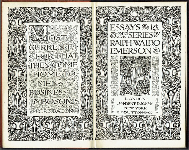 Image for Essays: 1st & 2nd Series (Everyman's Library