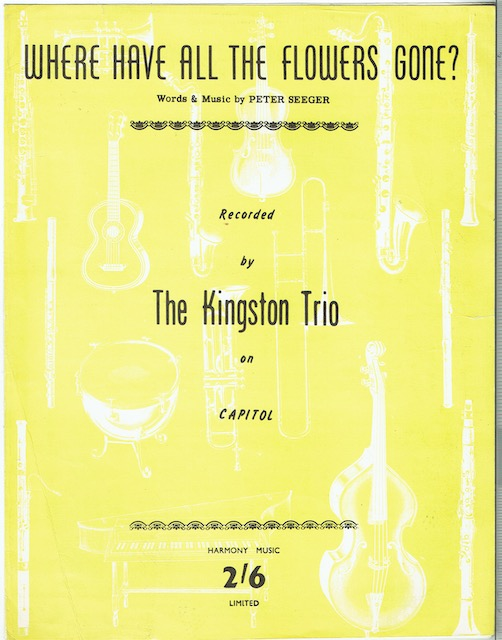 Image for Where Have All The Flowers Gone (Recorded by The Kingston Trio)