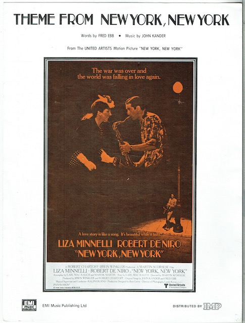 Image for Theme From New York, New York