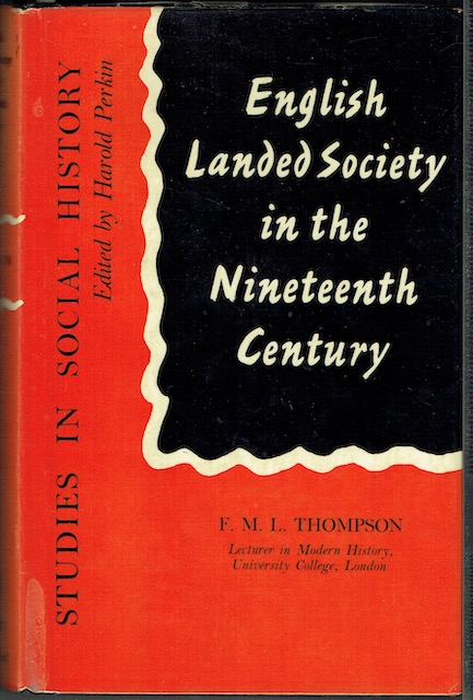 Image for English Landed Society In The Nineteenth Century