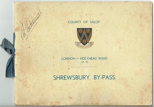 Image for London-Holyhead Road (A.5): Shrewsbury By-Pass, Opened By H.R.H. The Princess Royal. Tuesday, May 23rd, 1933
