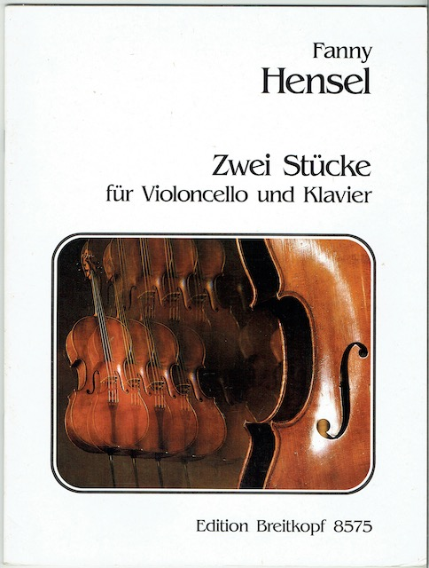 Image for Zwei Stucke Fir Violoncello Und Klavier (Edition Breitkopf 8575)