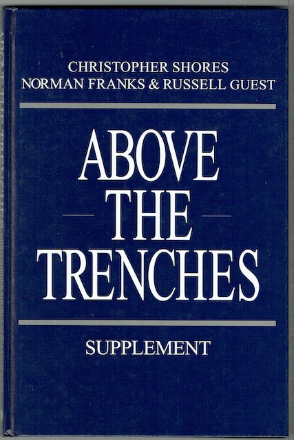 Image for Above The Trenches: Supplement