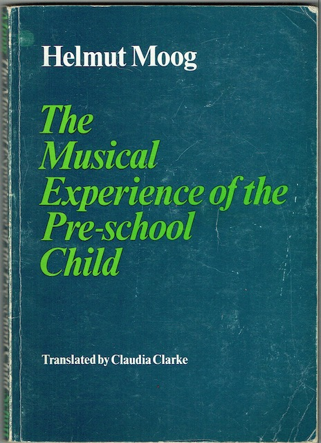 Image for The Musical Experience Of The Pre-School Child