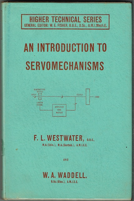 Image for An Introduction To Servomechanisms