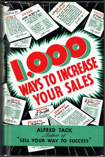 Image for 1,000 Ways To Increase Your Sales