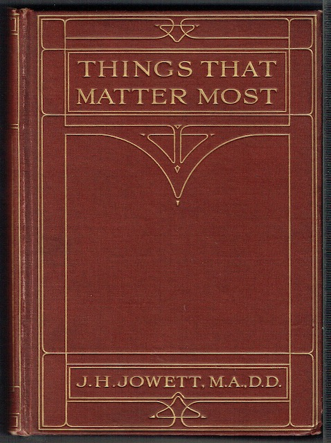 Image for Things That Matter Most: Short Devotional Readings