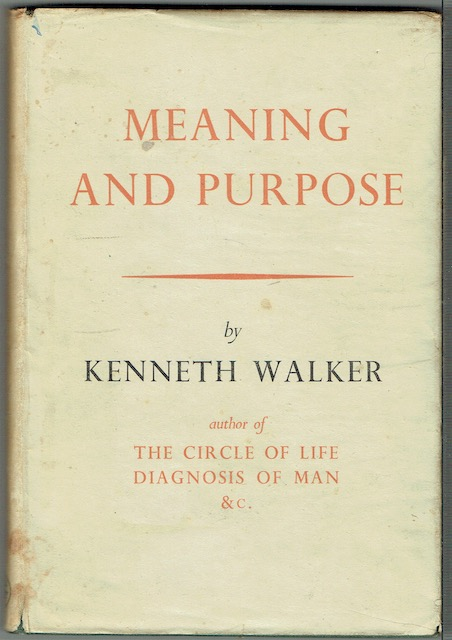Image for Meaning And Purpose
