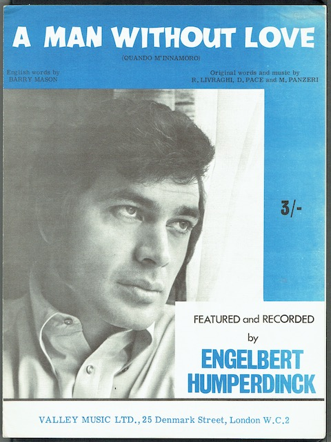Image for A Man Without Love, recorded by Englebert Humperdinck