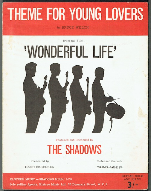 Image for Theme For Young Lovers, recorded by The Shadows from the film Wonderful Life