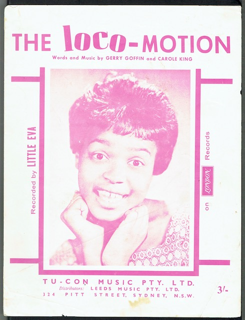 Image for The Loco-Motion, recorded by Little Eva