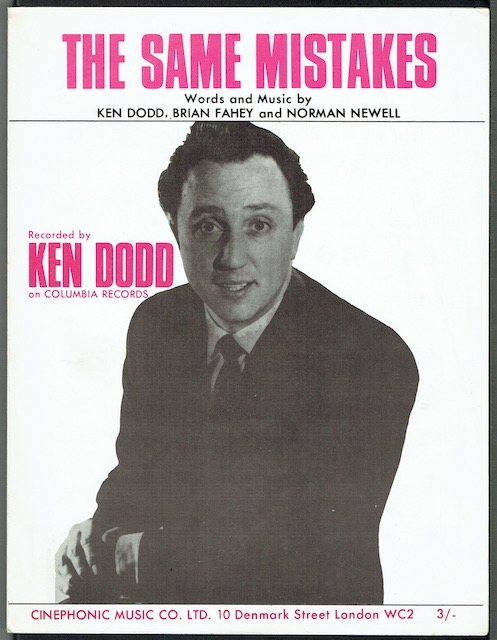 Image for The Same Mistakes, recorded by Ken Dodd