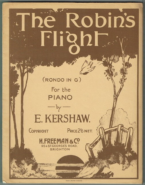 Image for The Robin's Flight (Rondo In G) For The Piano