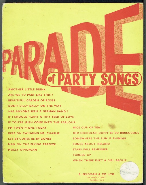 Image for Parade Of Party Songs