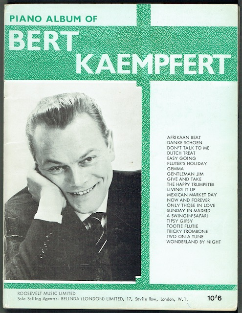Image for Bert Kaempfert's New Piano Album