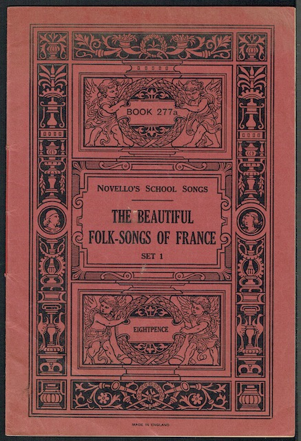 Image for The Beautiful Folk-Songs Of France Set 1