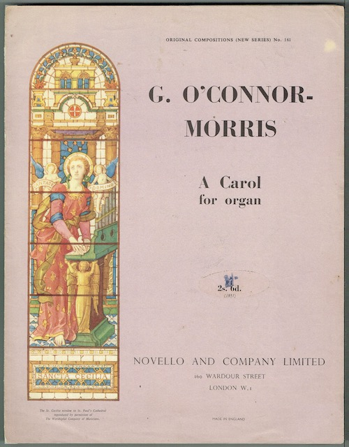Image for A Carol For Organ, Op.44, No. 2