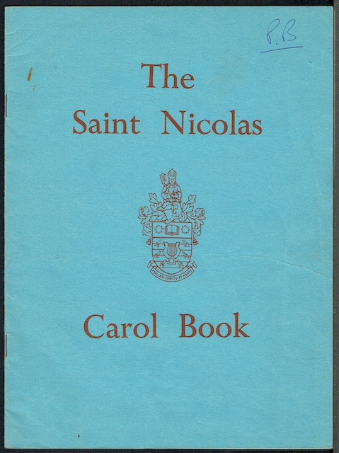 Image for The Saint Nicholas Carol Book