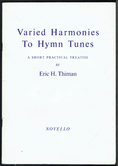 Image for Varied Harmonies To Hymn Tunes: A Short Practical Treatise