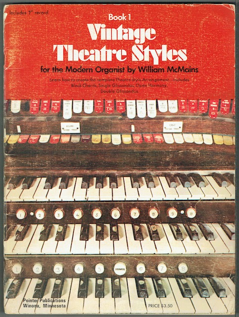 Image for Vintage Theatre Styles For Modern Organists: Instruction Book 1