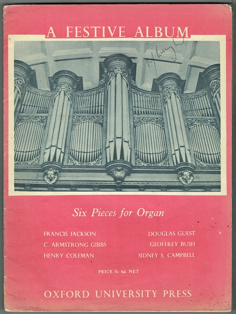 Image for A Festive Album: Six Pieces For Organ
