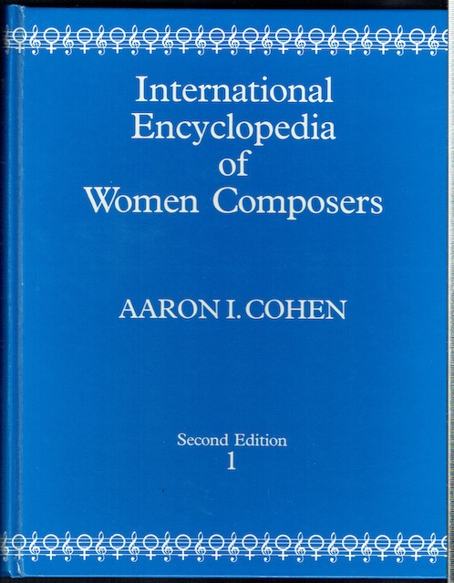 Image for International Encyclopedia Of Women Composers In Two Volumes