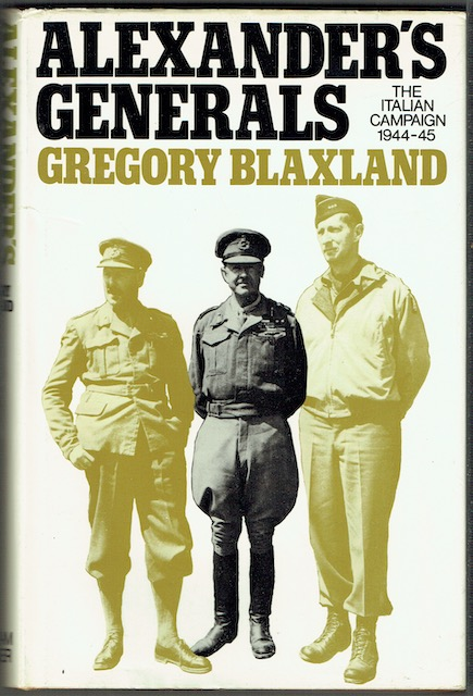 Image for Alexander's Generals: The Italian Campaign 1944-45