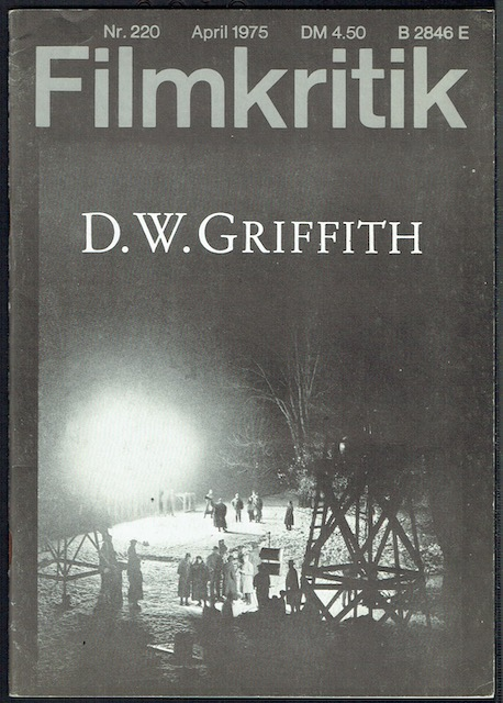 Image for Filmkritic Nr. 220, April 1975: D. W. Griffith