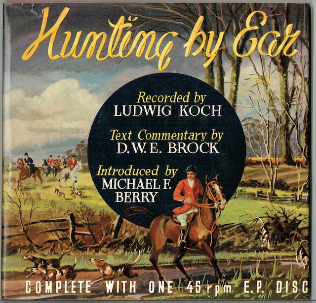 Image for Hunting By Ear: The Sound Of Fox-Hunting