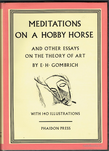 Image for Meditations On A Hobby Horse And Other Essays On The Theory Of Art