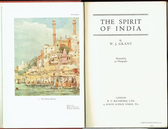 Image for The Spirit Of India