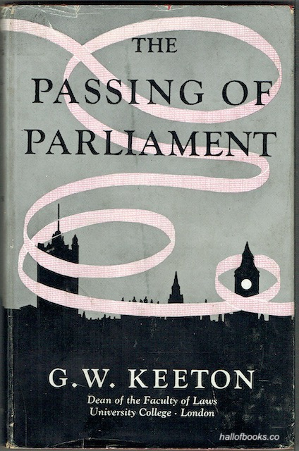 Image for The Passing Of Parliament