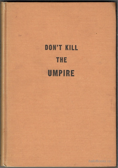 Image for Don't Kill The Umpire