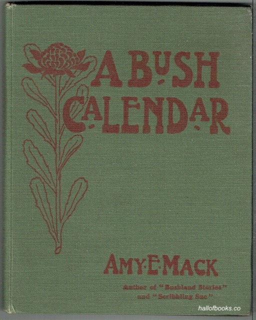 Image for A Bush Calendar
