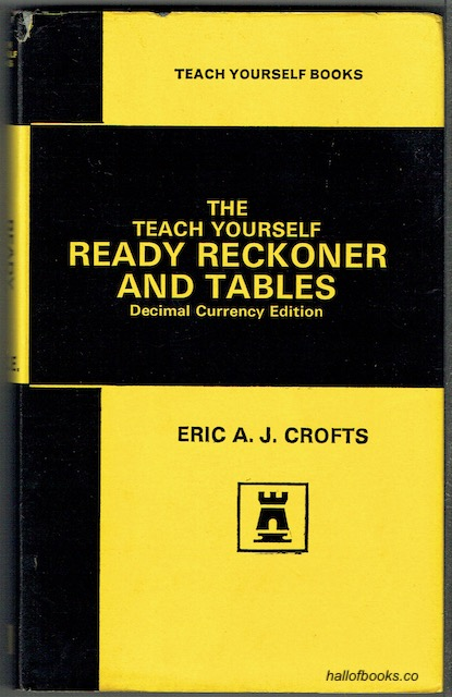 Image for The Teach Yourself Ready Reckoner And Tables (Decimal Currency Edition)