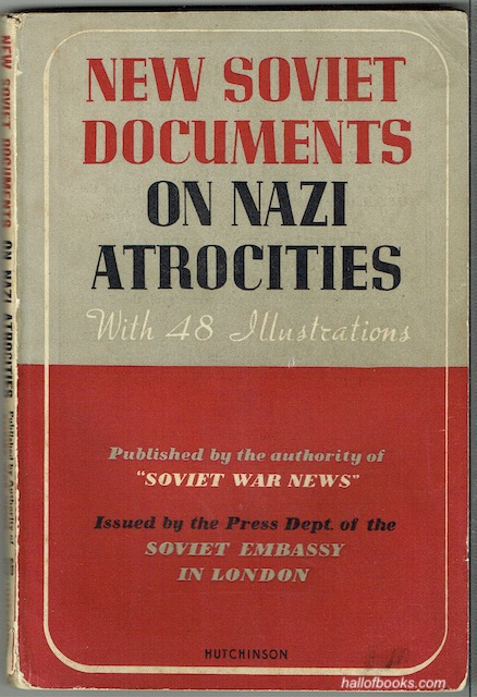 Image for New Soviet Documents On Nazi Atrocities
