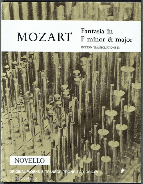 Image for Fantasia In F Minor And Major For A Mechanical Organ (K. 594)