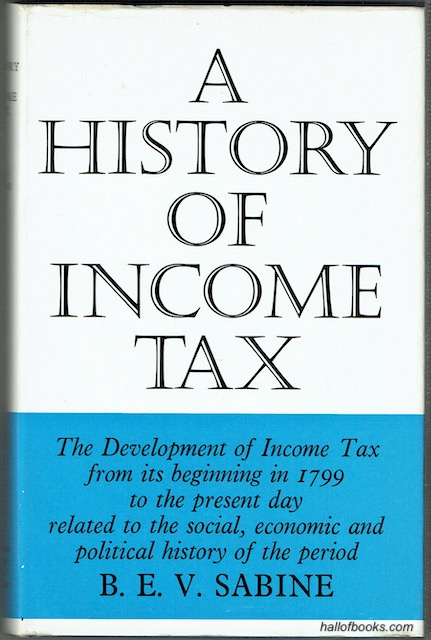 Image for A History Of Income Tax