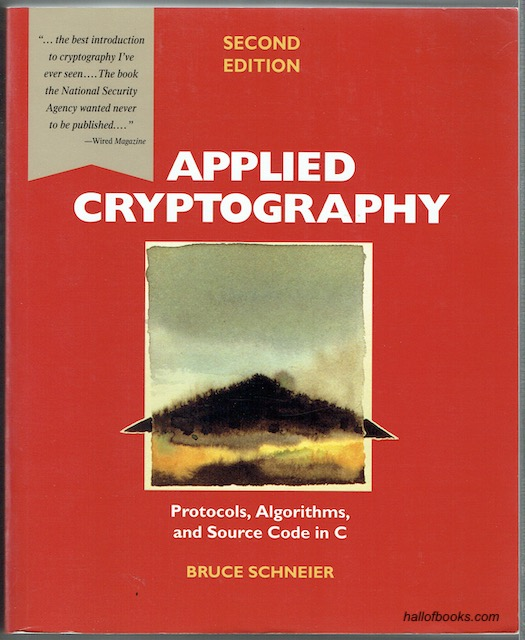 Image for Applied Cryptography, Second Edition: Protocols, Algorithms And Source Code In C