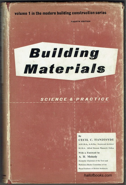 Image for Building Materials: Science & Practice.
