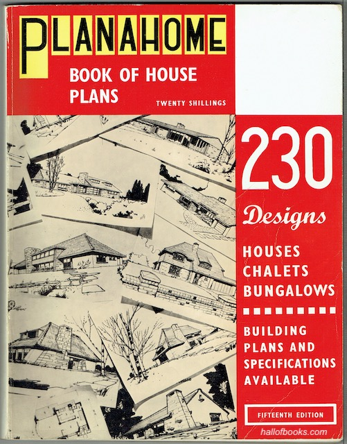 Image for The Planahome Book Of House Plans: Fifteenth Edition, 1969