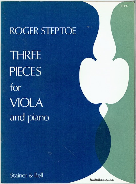 Image for Three Pieces For Viola And Piano: Narration, Burlesque, Elegy
