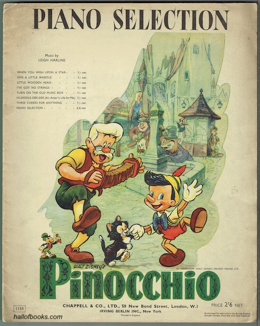 Image for Pinocchio Piano Selection